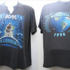 "Other - 1996 Vintage ""ACDC - BALLBREAKER World Tour"" Tee"